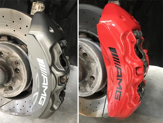 Brake Caliper Painting Wheel Refurbishments West